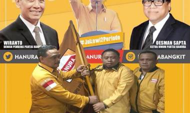 Partai Hanura Di 17 April 2019 Siap Menangkan Jokowi Ma'ruf Amin dan Pileg Di Kabupaten/Kota Di Provinsi Gorontalo