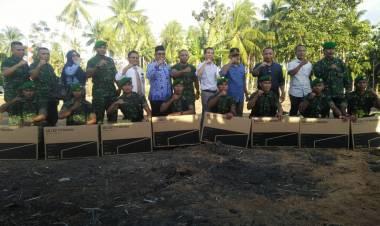 Danrem Lakukan Peletakan Batu Pertama Di Saksikan Oleh Ketua REI Provinsi Gorontalo
