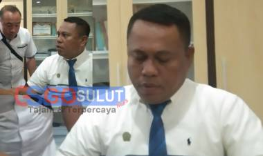 Silahturahmi PRESSu're Dengan Sekda Gorut Ridwan Yasin