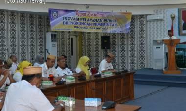 OPD Harus Lakukan Inovasi Publik, Wagub Idris Rahim : Pelayanan Harus Cepat Dan Tepat