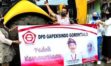 Dalam Waktu Dekat DPD Gapeksindo Gorontalo Rehabilitasi Rumah Warga Yang Tak Layak Huni