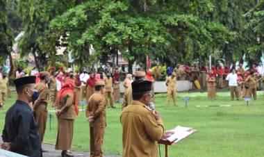 Bupati Darwis: ASN Harus Memberikan Edukasi Pencegahan Penyebaran Covid-19 Pada Masyarakat