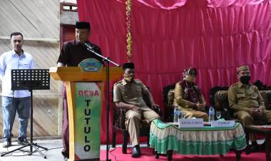 Wakil Ketua DPRD Boalemo, Hadiri Peresmian Rumah Layak Huni