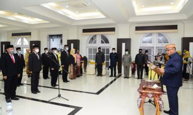 258 Pejabat Pemprov Gorontalo Dilantik