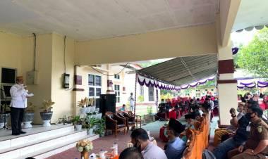Bupati Gorut : Halal bihalal Satu Tradisi Yang Bernuansa Religius