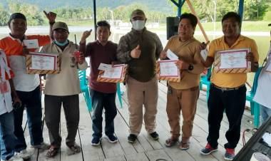 ORARI Bone Bolango Gelar Silaturahmi dan Uji Coba Perangkat HT Dalam Penanggulangan Bencana