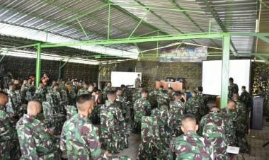 Kodam XIII/Mdk Gelar MTT Bagi Personil Yonif Raider 712/Wiratama