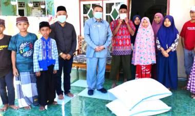 Wagub Gorontalo Beri Bantuan Panti Asuhan Al Amanah