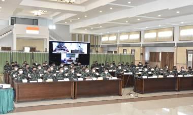 Kodam XIII/Merdeka Menggelar Rapat Pembinaan Tata Laksana