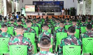 Persiapan Misi Perdamaian PBB, 100 Personil Yonif 713/ST Ikut MTT