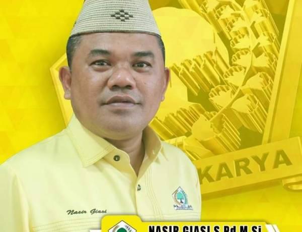 Ketua DPRD Nasir Giasi Minta Balai Sungai Sulawesi II Bayar Hak Rakyat