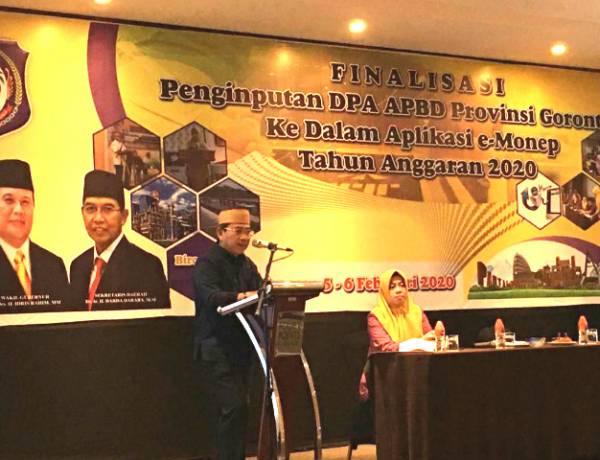 Syukri Botutihe  : PNS Jangan lagi Berharap Pada PTT