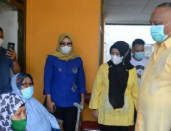Korban Kebakaran di Tamalate Mendapat Perhatian Gubernur Gorontalo